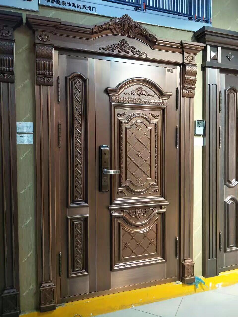 温州不锈钢铜门制作商生产厂家公司